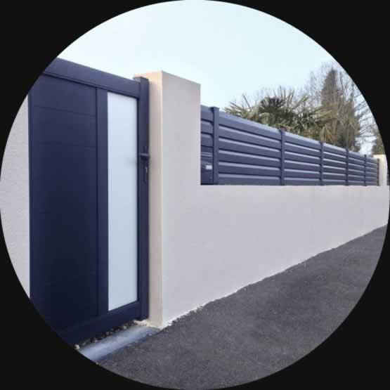 création d'un portail à la Roche sur Yon par Espace Confort 2000